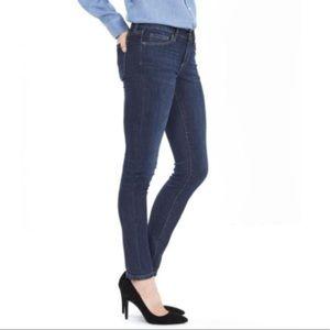 Banana Republic Skinny Fit dark wash jeans   sz 26